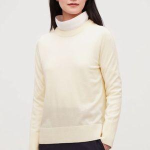 COS Mix-Stitch Merino Wool Jumper -Size XS (NWOT)